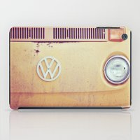 vw bus iPad Cases featuring vw by shannonblue