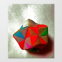 origami Canvas Prints featuring Origami +++ by NaomYb'