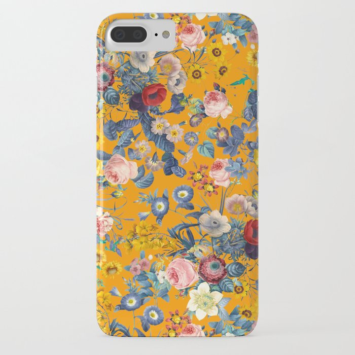 summer botanical garden ix iphone case