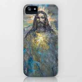 I AM THE LIGHT OF THE WORLD II iPhone Case