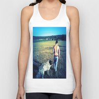 indiana Tank Tops featuring Indiana by Peacockbutterfly  Art