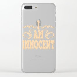 Plain simple unique tee design made perfectly in the right timing as a lovely gift to your loved one Clear iPhone Case