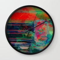 amsterdam Wall Clocks featuring Amsterdam by Fernando Vieira