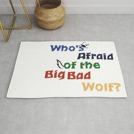 Who's Afraid of the Big Bad Wolf? Rug