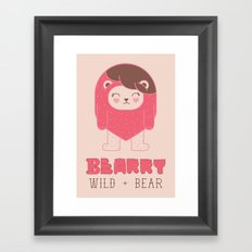 BEARRY Framed Art Print