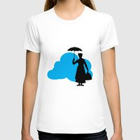 mary poppins T-shirts featuring mary poppins by notbook