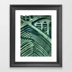Bridge Ribs Framed Art Print