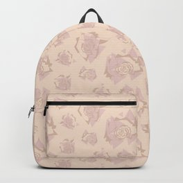 Geo Roses Blush Backpack