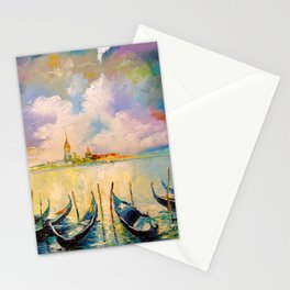 Venice before the storm Stationery Cards