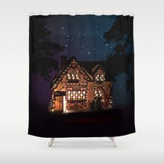 C1.3D PAPERSHOPPE BY NIGHT Shower Curtain