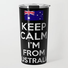 Australia Keep Calm Travel Mug