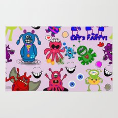 Monster Party Rug