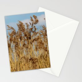 Lenz gently blowing the stalks Stationery Cards