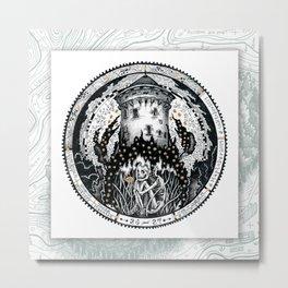 26-27 HIDEOUT Maptober 2019 Metal Print
