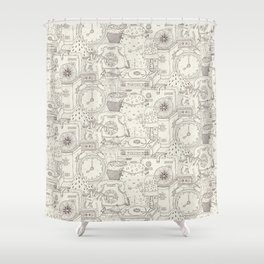 Room 238 Shower Curtain