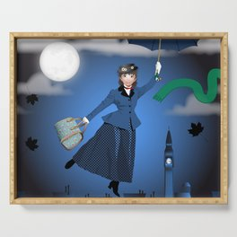 Mary Poppins Serving Tray