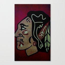 Blackhawks Canvas Print