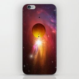Star dust and interstellar gas. iPhone Skin