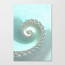 Fractal Ocean Wave Canvas Print