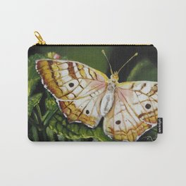 "Original Painting ""Butterfly Broadly"" Carry-All Pouch"