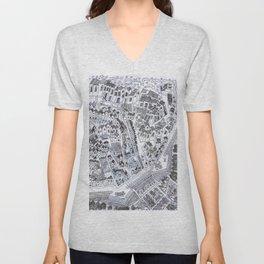 City within the Venetian Wall Unisex V-Neck