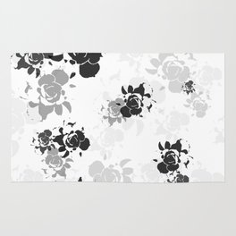 Succulent abstract Rug