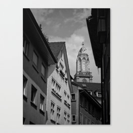 Zurich grouds eye Canvas Print