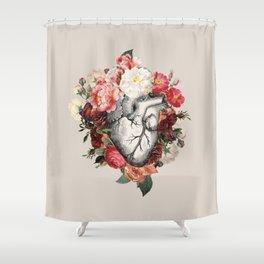 Live, Love, Die Shower Curtain