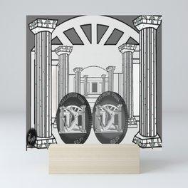 Necropolis Coins Palladium and Platinum 2 Mini Art Print
