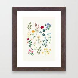 Spring Botanicals Framed Art Print