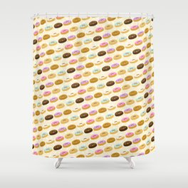 Eating Donuts Shower Curtain