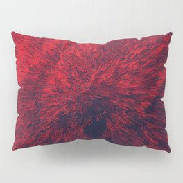 Bold Burst in Brilliant Red Pillow Sham