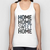 home sweet home Tank Tops featuring HOME by Eolia