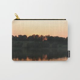 Summer sunset over the lake | Landscape photography Carry-All Pouch