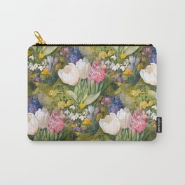 Tulips and primroses Carry-All Pouch