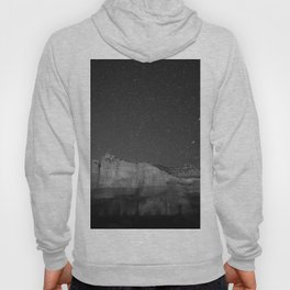Galaxy Mountain (Black and White) Hoody