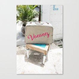 Vacancy Canvas Print