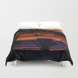 Tower 16 Sunset Duvet Cover