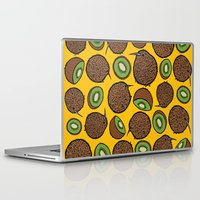 kiwi Laptop & iPad Skins featuring Kiwi by Nemki