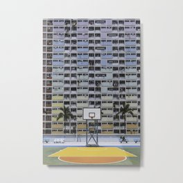 Hong Kong Basketball Metal Print