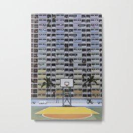 Hong Kong Basketball Metal Print
