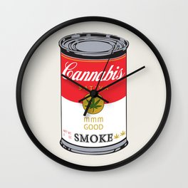 Campbell's Soup (Cannabis Sativa) - That 70's Show Wall Clock