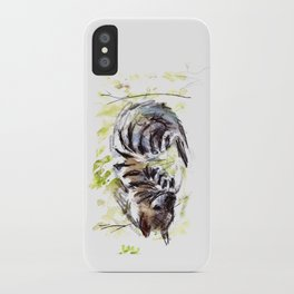 Totem striped hyena (Hyaena hyaena) iPhone Case