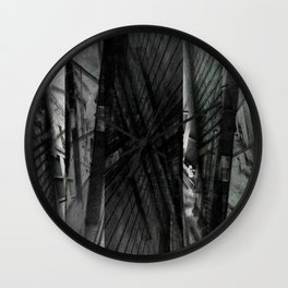 Incongruous like aspiring via acts of desperation. [D] Wall Clock