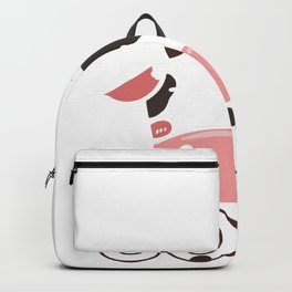Easily Distracted By Cows Farmer Farming Design Backpack