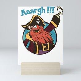 Pirate Captain Seafarer Mini Art Print