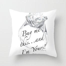 Buy Me This Throw Pillow