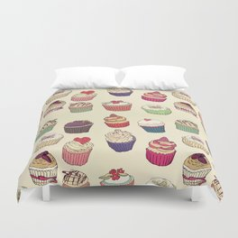 Margery's Lil Cupcake Shop Duvet Cover