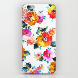Hand-Painted Watercolor iPhone Skin