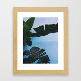 Hueneme Blue Framed Art Print